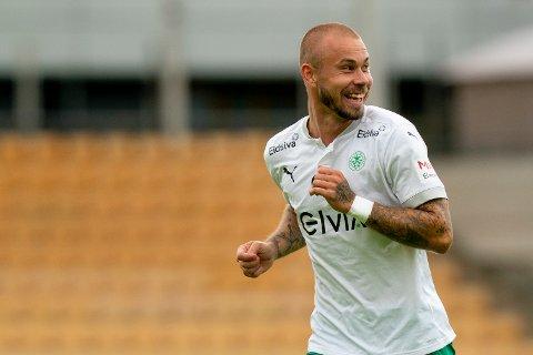 TIL VARMERE STRØK: Marcus Pedersen skal spille i Tyrkia framover.