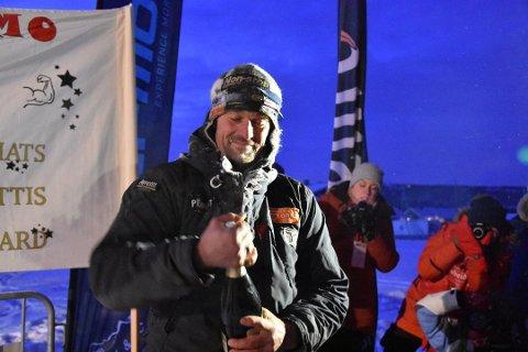 KRITISK: Thomas Wærner, her avbildet etter at han vant Femundløpet 2019, er ikke nådig når han kommenterer Helsedirektoratets avgjørelse om å avlyse årets Femundløp.