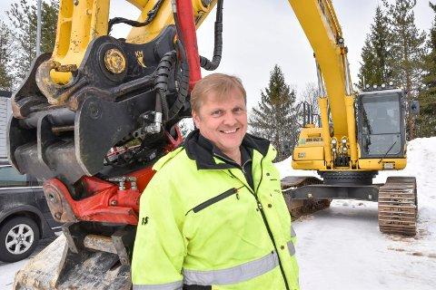 INVESTERTE I SKOG: Frank Myhre, daglig leder i John Galten AS og nybakt skogeier.