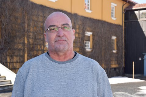VERNEOMBUD: Tom Storsveen er hovedverneombud i Elverum kommune.