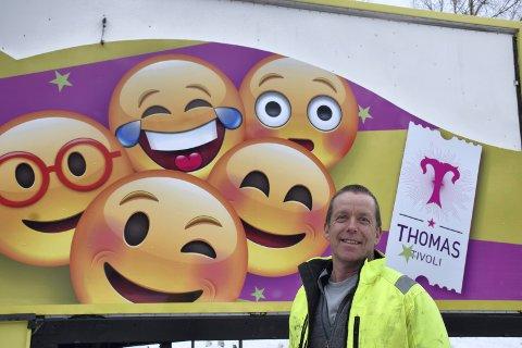 GLAD: Daglig leder Arne Grønnesby i Thomas Tivoli er glad for koronastøtten på 360.000 kroner.