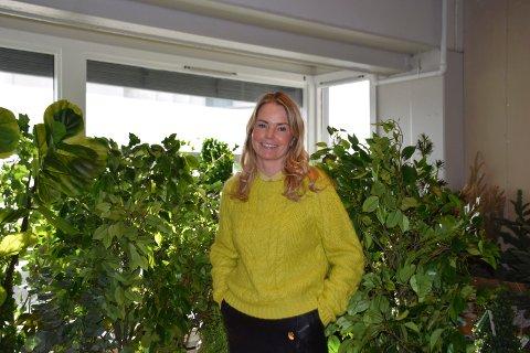 SUKSESS: Kristin Hansen Øvre (41) fra Elverum startet Oj design hjemmefra. Nå har bedriften 12 ansatte og omsatte for nesten 23 millioner i fjor.