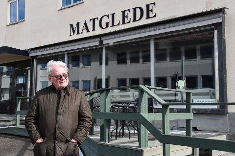TI ÅR: Mat-Glede AS ble etablert i 2011. Sist onsdag leverte styreleder Reidrar Næss oppbud på det populære spistestedet.