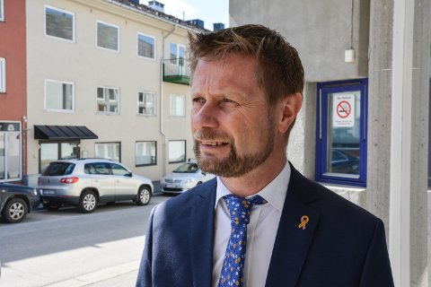 PLUSS FOR ELVERUM: Helse- og omsorgsminister Bent Høie (H) mener vedtaket i tirsdagens foretaksmøte i Helse Sør-Øst er et pluss for Elverum.
