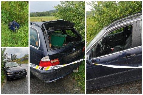 HENSATT: Denne bilen ble hensatt på grunn av at den ikke
