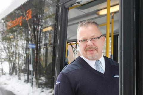 Ørnulf Thyberg kjenner kundegrunnlaget på for nøtterøyrutene, og mener at busse forbi Bjønessåsen bør gå forbi Gipø også.