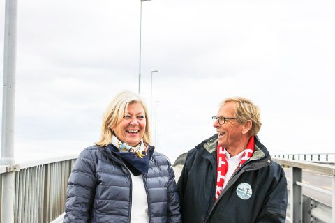 Tjøme-ordfører Bente K. Bjerke og Nøtterøy-ordfører Roar Jonstang har nok begge utfordringer i sine kommuner, men på målingen til Kommunal Rapport kommer Nøtterøy klart best ut.