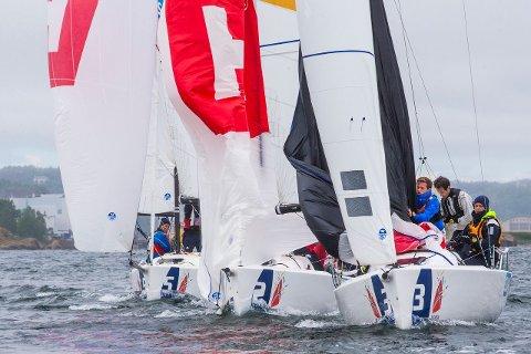 Tønsberg Seilforening gjorde det godt i seilsportligaen.