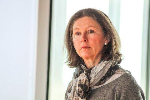 Næringssjef Mie Heireth Jørgensen på Tjøme.