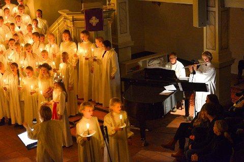 Luciakonsert Korskolen
