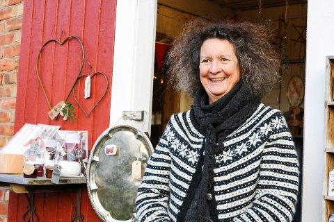 Gerd Gellein Merkesdal På Låven er utstillingsklar.
