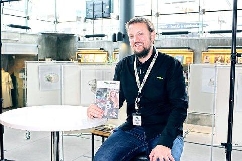 Aslak Larsen arrangementansvarlig biblioteket høstprogram