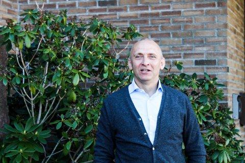 Jan Eirik Finseth på Vinghøg/Rheinmetall leder en bedrift som har noen tøffe år bak seg resultatmessig.