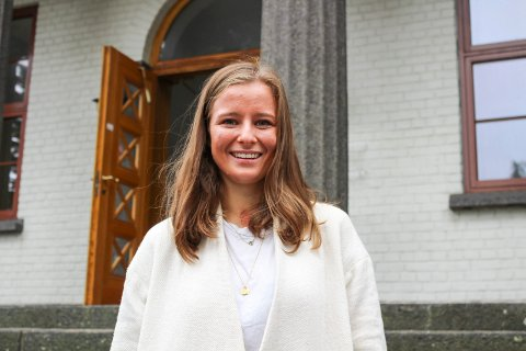 Karoline Aarvold fra Tjøme er nå fylkespolitiker, og hun er godt fornøyd med at Færder kommune som en av tre får penger til viktig arbeid mot vold og overgrep.