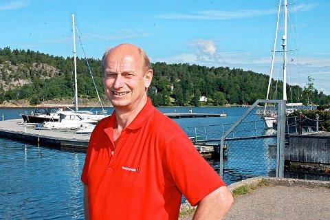 Hyttemegler Tore Solberg mener solforholdene kan påvirke prisene på Håøya.