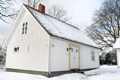 På Torød sto det litt i veien, på Fagertun pynter det opp på et vakkert tun.