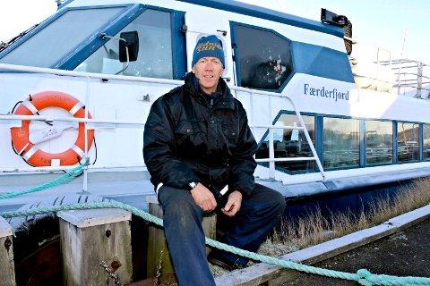 Vinteren har vært kald og lang og i år går ikke Bolærne-båten i påsken.