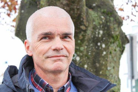 Martin Handelanf er lege på Teie, i Bellevuesenteret.
