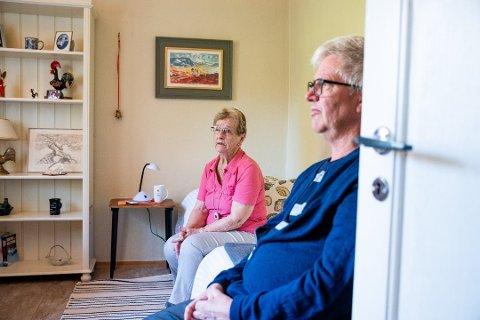 SVINDLET: Aud Nyberg (87) i Lørenskog fikk tilbud fra to menn om å få vasket huset for 6.000 kroner. Regningen endte på 300.000.