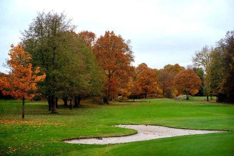 Tjømes golfbane er stengt for sesongen.
