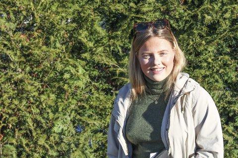 LEDER AN: Hedda Caroline Wigeland Håkegård (18) håper på å gjøre Toråsspelet til noe stort som hele kommunen kan glede seg over.