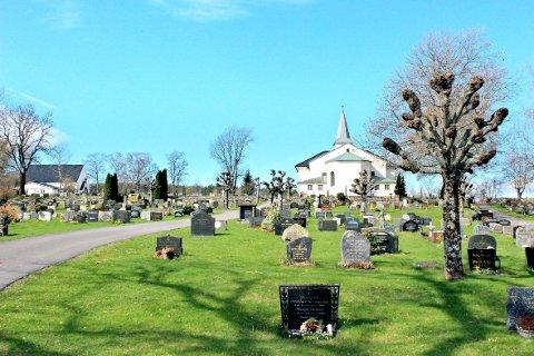 Også på kirkegården bør man tenke på smitteverntiltak.