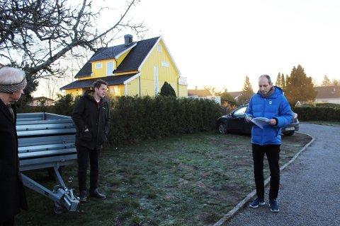 TOK IKKE KLAGEN TIL FØLGE: Virksomhetsleder Andreas Mæland redegjorde for saken da Hovedutvalget for kommunalteknikk hadde saken oppe før jul i fjor.