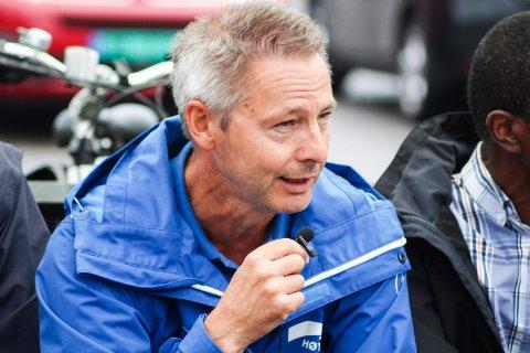 Tom Mello legger ikke skjul på at valget ikke gikk helt som han håpet. Men han har fortsatt tro på Høyre i posisjon og venter på samtalene de kommende dagene.