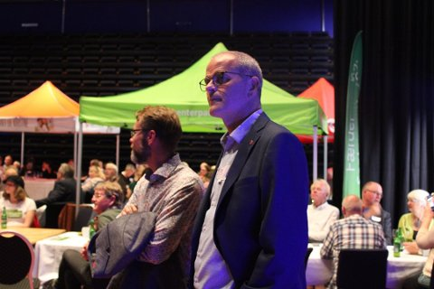 I FORHANDLINGER: I forrige uke valgte Sp, Mdg og KrF å gå i forhandlinger med Arbeiderpartiet. Tirsdag møtes partiene igjen.