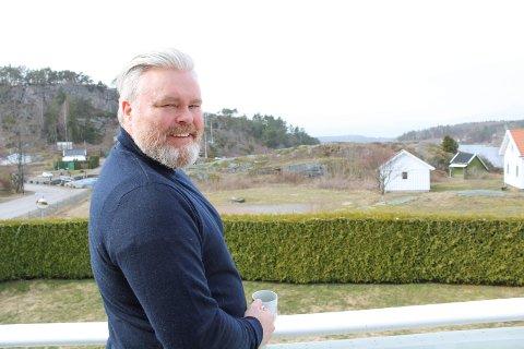 «ONE LAST TIME»: I fjor flyttet han og familien til Randineborg, i kveld kan Rein kvalifisere seg til landsfinalen i MGP.