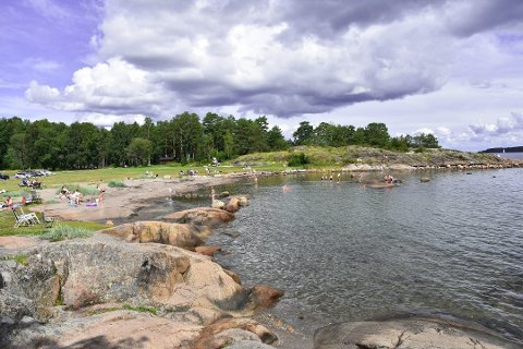 Fjærholmen er et av stedene hvor det skal innføres p-avgift. Der skal det bli avgift hele døgnet, hele året.