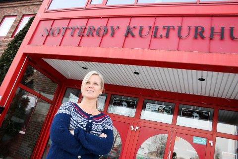 Kirsti Danielsen opplyser at de også i kulturhuset setter i verk tiltak knyttet til korona.
