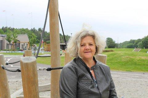SKRYTER: Hverdagen er for tiden veldig annerledes for styrer Janne Clasen ved Lindhøy barnehage. Nå vil hun skryte både av sine egne ansatte og av Færder kommunes krisestab.