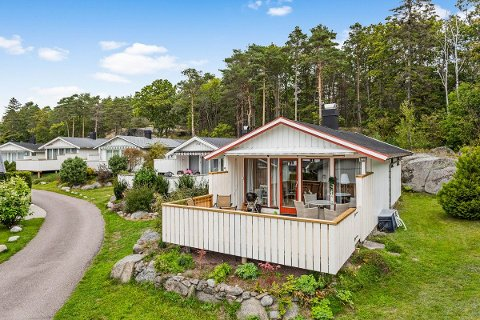Den relativt enkle hytta ble solgt raskt.