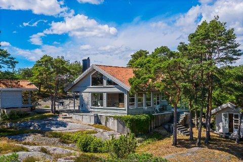 Hytta i Bukkholmveien 14 på Tjøme ble fort solgt.