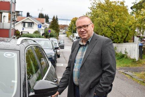 Arve Høiberg (Ap er leder for Fylkestrafikksikkerhetsutvalget.
