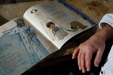Illustrasjonen fra boka «Snill mann» sammenfatter det Aschjem står for.