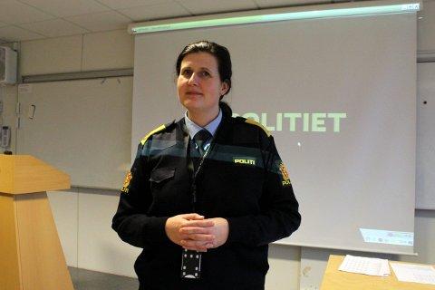 Fungerende leder i Telemark politidistrikt, Rita Kilvær, melder at krimstatistikken er gledelig historisk lav.