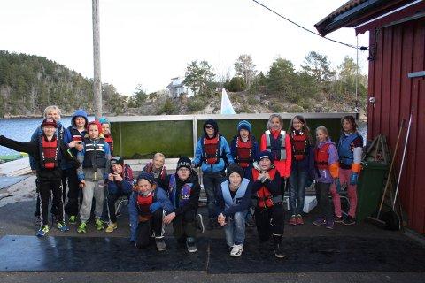 6. klassingene ved Brattås skole har gledet seg i flere måneder til de skulle på leirskole på Klokkerholmen.
