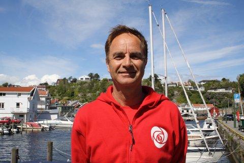Lars Erik Andersen er leder i Brevik Arbeiderlag