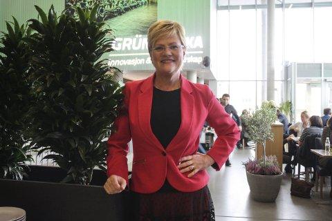 Kristin Halvorsen hadde bare sett Ælvespeilet fra utsida før hun var konferansier på Vekstkonferansen under Gründeruka. Den tidligere ministeren fra Grønli var fornøyd med det hun opplevde. Hun syns også det var stas å bli bedt om å lede konferansen, og peker på at det er mye spennende som skjer i Grenland på gründerfronten for tida.
