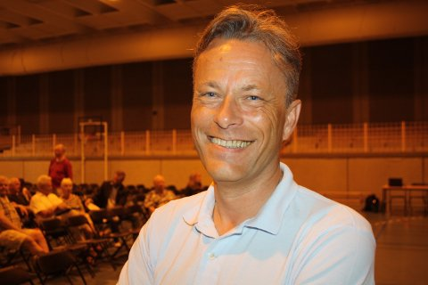 FULL FYR: Jan Erik Parr i Vern om Grenland.