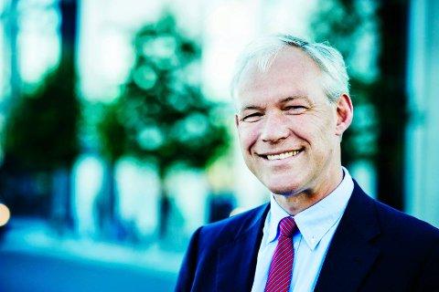 SJEF: Sverre Thornes er konsernsjef i KLP.