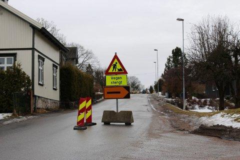 Innkjøringen til Grønlivegen er nå stengt.