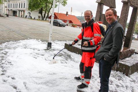 Kjell Myren og Robin Kåss