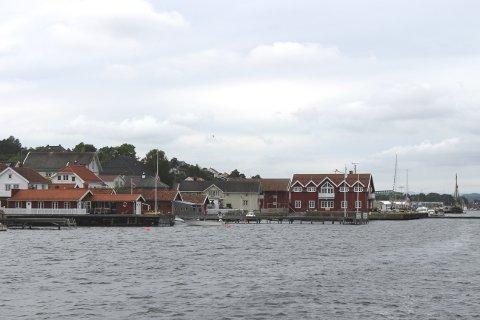 Langesund losstasjon.