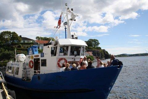Ferga Løvøy i Brevik Fergeselskap IKS er med på prosjekt øyhopping som har samarbeid med Helgeroafergene om passasjertrafikken mellom øyene Porsgrunn-Helgeroa-Langesund.