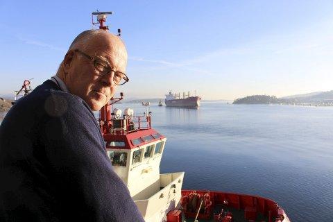 Havnedirektør Finn Flogstad er fornøyd med at skipstrafikken i Grenland Havn har hatt en formidabel økning i  godsvolumene. Det skjer mye spennende i Grenland i tiden framover, for å tilrettelegge for bedre fremføringsforhold for skip og næringsliv.