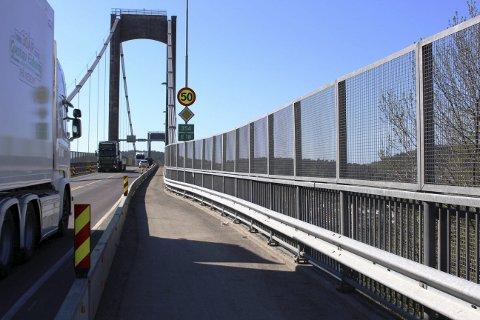 STANDARD: Grenland Havn er bekymret for framtidig standard på Breviksbrua for trailertrafikken.