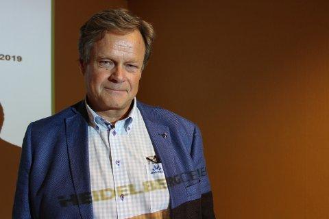 Bærekraftdirektør Per Brevik i HeidelbergCement Northern Europe er prosjektansvarlig for planer om CO2 fangstanlegg. Målsettingen er å legge planer for et fullskala karbonfangstanlegg ved Norcem Brevik som kan settes i drift høsten 2023.